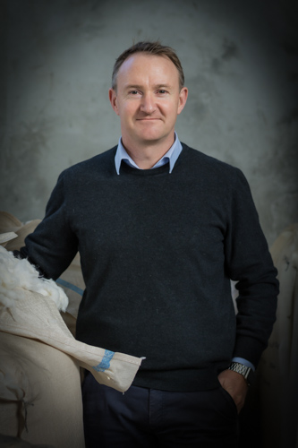 Andy May - General Manager of Woolyarns